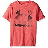 Under Armour Boys' Hybrid Big Logo T-Shirt,