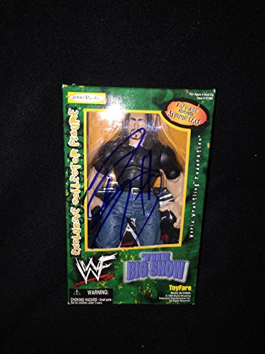 Big Sow Signed Wwe Jakks Pacific Toyfare Exclusive Collectors Figure Wwf - Autographed Wrestling Miscellaneous Items (Collector Wrestling Figure)