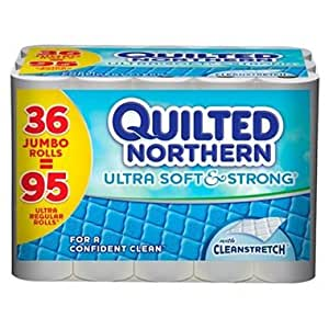 Amazon Com Quilted Northern Ultra Soft Bathroom Tissue