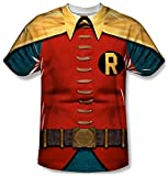 Batman Classic TV - Robin Costume T-Shirt Size S