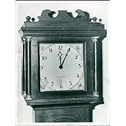 Vintage photo of Long case clock