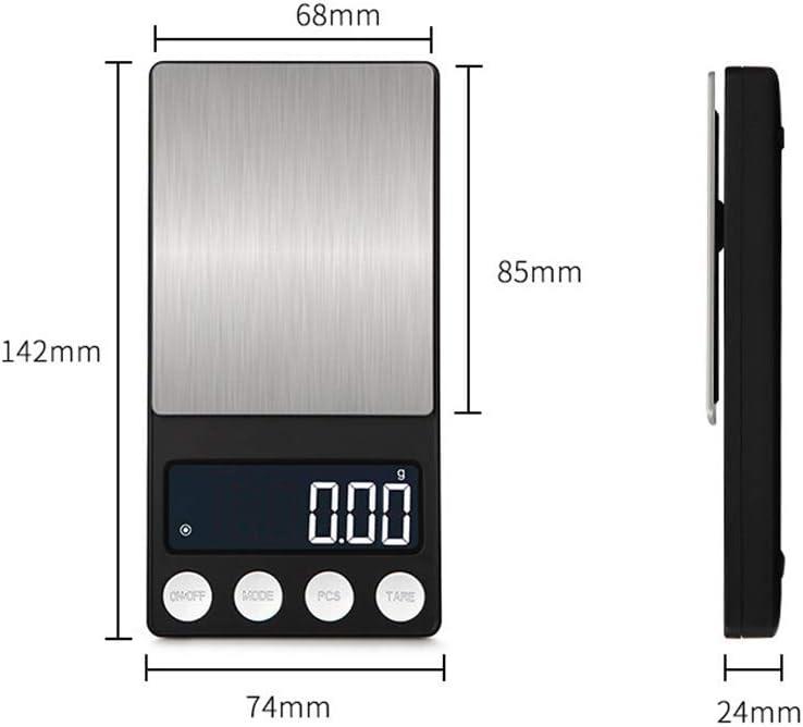 GYZ Bilance da Cucina - Scala Elettronica Bilancia da Cucina Bilancia da Cucina in Miniatura Scala da 0,01 g Bilancia da Cucina Portatile ad Alta precisione /+-+/ (Colore : B1) B2