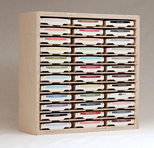 36 Ink Pad Holder by Stamp-n-Storage