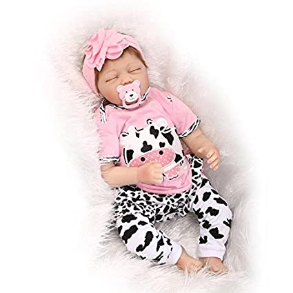 Amazon.com: OCSDOLL Reborn Baby Dolls 22 inch Lifelike Soft ...