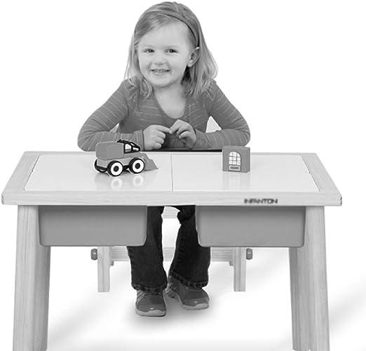 Juegos de mesas y sillas Mesa de estudio y silla Mesa de estudio en el hogar sala de estar en casa mesa de juguete de la mesa de estudio del estudiante mesa