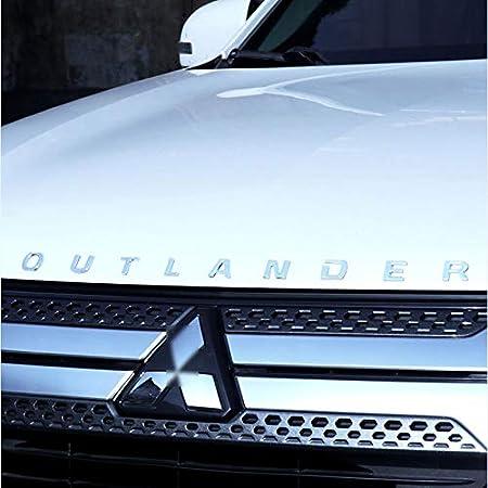 D28jd Logo Emblem Für Die Motorhaube Abs Buchstaben Aufkleber Für 2019 M Itsubishi Outlander Küche Haushalt