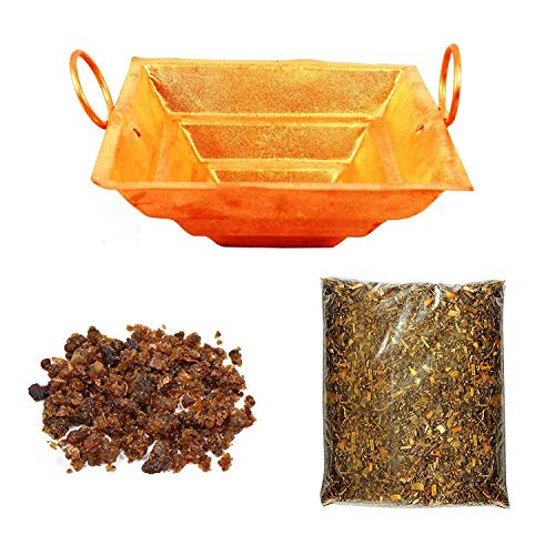 100gm Pure Green Guggal / 100gm Hawan Samagri & Hawan Kund/Best Item for Temple/Home for All Pooja Purpose