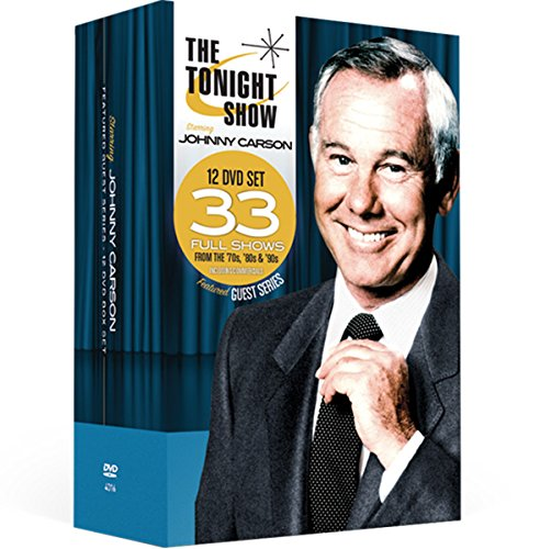 The Tonight Show starring Johnny Carson - Featured Guest Series 12 DVD Collection -Volumes 1-12 (James Stewart Best Moments)