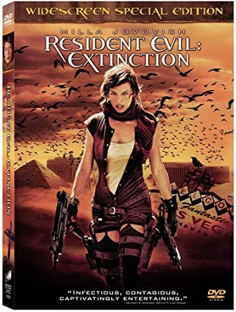 Amazon Com Resident Evil Extinction Widescreen Special Edition
