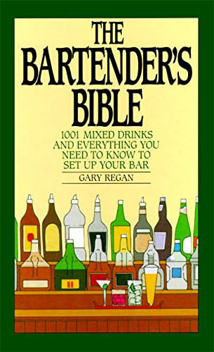 Bartenders Bible Mixed Drinks Everything