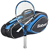 Babolat 2018 Pure Drive Lite Tennis Racquet – Strung with 6 Racquet Bag (Blue Bag, 4 even) Review