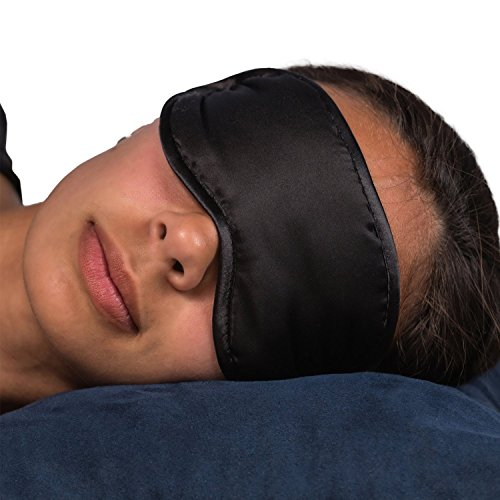 Bedtimz - Natural Super Silky, Super-Soft sleep mask & blindfold, super-smooth eye mask Ideal for Train Journeys, Long Flights and Just About Any Other 'Anti-sleep' (Funny Face Masks)