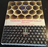 Thinking Mathematically, 4th Edition, Robert Blitzer, 0558063845