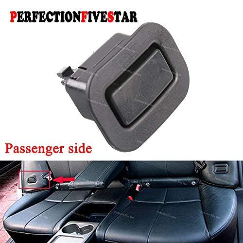 Right Rear Recliner - Fastener & Clip 64328AG001 for Subaru Forester 2009 2010 2011 2012 2013 Black Right Rear Seat Holder Recliner Button