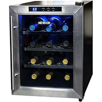 NewAir AW-121E 12 Bottle Thermoelectric Wine Cooler