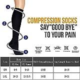 Compression Socks For Men & Women - BEST Fit for