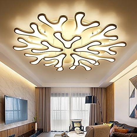 TIANLIANG04 Iluminación de techo Salón lámpara LED lámpara ...