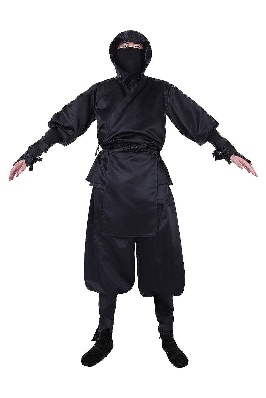 Amazon.com: MIGHTYCOS Mens Japanese Ninja Suits Drawstring ...