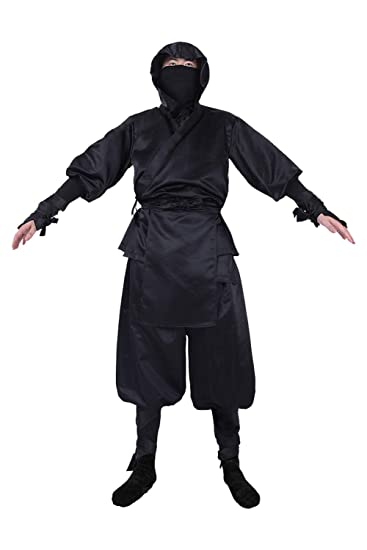 Amazon.com: MIGHTYCOS Mens Japanese Ninja Suits Drawstring ...
