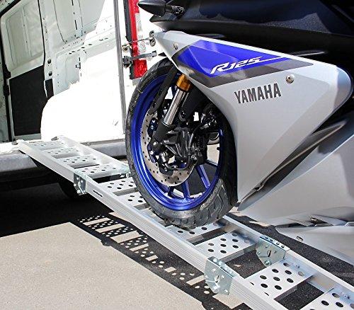 ATV triple pliable Constands rampe de chargement III en aluminium 270 kg Scooter max Quad pour Moto