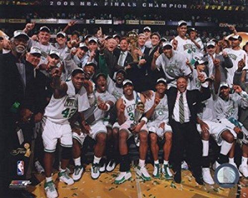2007-2008 Boston Celtics NBA Finals Champions Celebration #29 Photo Print (11 x 14) by