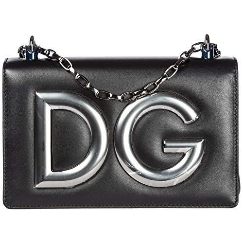 Gabbana amp; Dolce à noir l'épaule DG sac Girls cuir en femme THxPxa5q