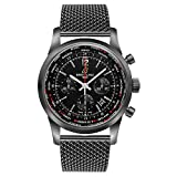 Breitling Transocean Chronograph Unitime Pilot Mens Watch MB0510U6/BC80