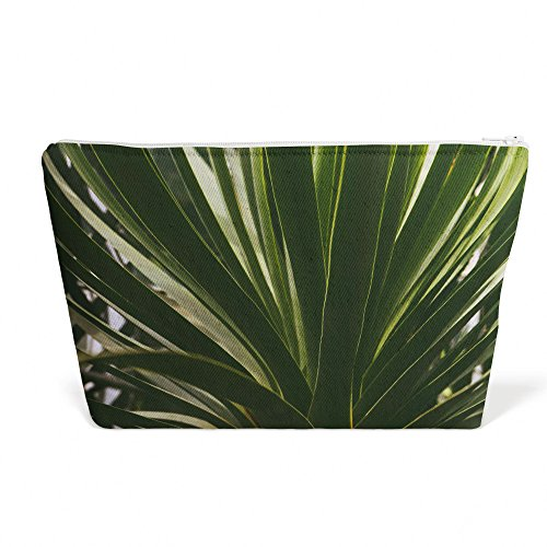 Westlake Art - Plant Leaf - Pen Pencil Marker Accessory Case - Picture Photography Office School Pouch Holder Storage Organizer - 13x9 inch - Palmetto Saw Flora