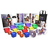 21 Day Fix Ultimate Kit Workout Program – Includes 2 sets of Portion control containers