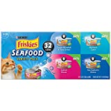 Purina Friskies Seafood Variety Pack Cat Food - (32) 11 lb. Box