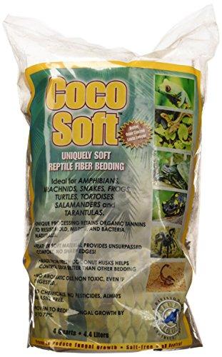 Caribsea SCS04210 Coco Soft Bedding, Fiber, 4-Quart Coco Soft Fiber