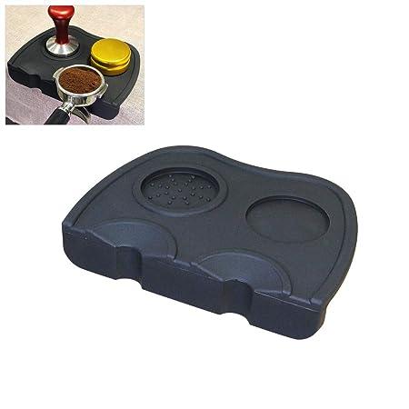 Tappetino antiscivolo in silicone per caffè da cucina con tamper Espresso