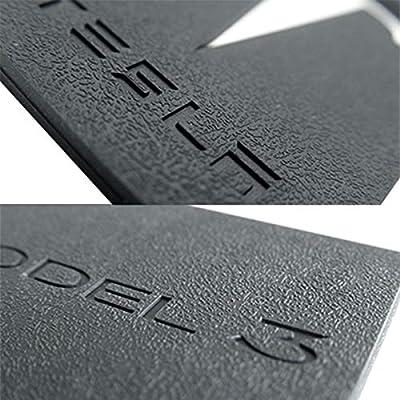 Wall Stickz Car Sales Key Card Holder for Tesla Model 3 Silicone Protector Cover Key Card Keychain (Black): Automotive