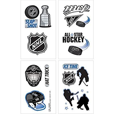 """NHL Ice Time! Collection"" Tattoos, Party Favor: Toys & Games"