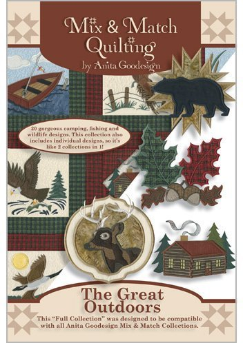 Anita Goodesign Embroidery Machine Designs CD THE GREAT OUTDOORS
