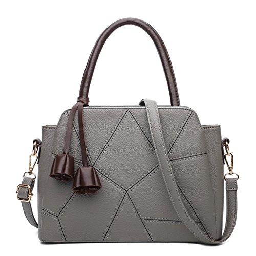 Moda rosso grigio Bag Messenger Bag Lady colori Cinque Single Shopping Bao Shoulder lavoro 0BPO7w