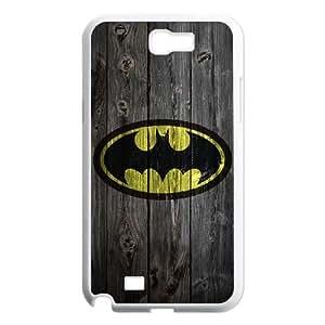 Samsung Galaxy N2 7100 Cell Phone Case White Batman gift W9605264