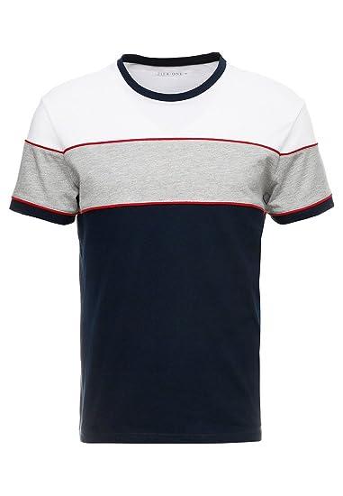 Pier One Camiseta de Hombre con Cuello Redondo - Camiseta de ...
