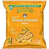 Annie's Organic Bunny Grahams Snack, Honey, 100 Count