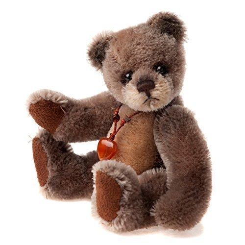 Mini Mohair Bear (Moccasin Mini Mohair Keyrings by CHARLIE BEAR)