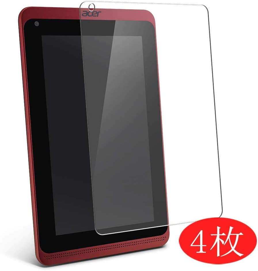 "【4 Pack】 Synvy Screen Protector for Acer Iconia Tab B1-721 7"" TPU Flexible HD Clear Case-Friendly Film Protective Protectors [Not Tempered Glass] New Version"