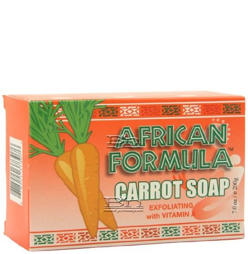 African Formula Carrot Soap with Vitamin a 7 Oz by African Formula