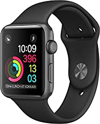 Apple Watch Series 1 42mm Smartwatch (Space Gray Aluminum Caseblack Sport Band)