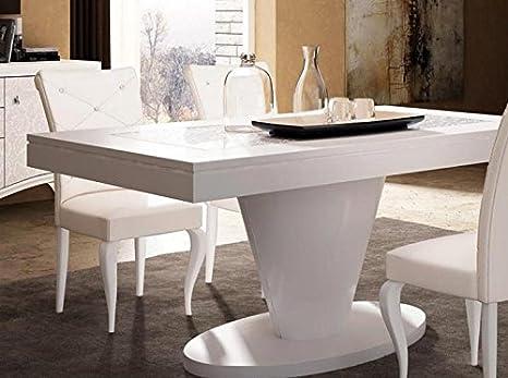 Dafnedesign.com - Tavolo rettangolare allungabile da soggiorno e ...
