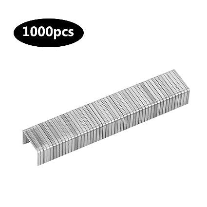 Standard Staples, 1000pcs Staples Nails Fasteners for Handheld Staple Gun Stapler (Door Type): Amazon.ca: Home & Kitchen