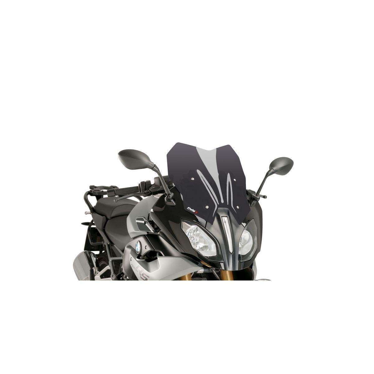 PUIG PUIG 7616F//72 Windschild racing double bubble FARBE DUNKEL RAUCH 7616F//72