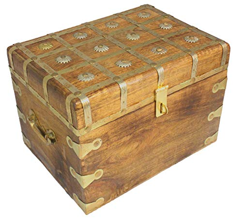 Well Pack Box WPB Gold Treasure Chest Strongbox 12