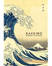 "Kakeibo Budget Planner: Kakeibo Journal – Personal Expense Tracker for Bookkeeping Budgeting & Money Saving | Monthly Budget Planner Book Bill Payment Tracker | Savings Goal Tracker Log Book w/ Beautiful Japanese Art Blue Waves 6""x9"" (Premium Cream Paper)"