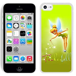 Grace Protactive Iphone 5c Case Design with Tinkerbell White Cell Phone Case for Iphone 5c