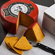 igourmet Red Leicester with Chiles (Red Devil) by Snowdonia Cheese Co. (7.5 ounce)
